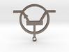 Transistor Necklace or keyring 3d printed