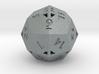 Pseudo-icositetrahedron - d24 - Hollow 3d printed
