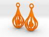 Ducklings - Earrings 3d printed