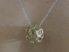 Trifolium pendant 3d printed