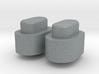 Adjustment Buttons - Plastics 3d printed