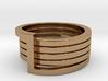 Loop Ring Size 9 3d printed