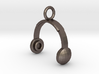 Headphones Pendant / Keychain 3d printed