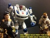 SPIKE Homage Exosuit Head For TF FOC JAZZ 3d printed ONLY SPIKE HEAD INCLUDED WITH PURCHASE. JAZZ body is fully transformable with Spike head attached. Spike head printed in Full Color Sandstone on FOC Jazz body. 4 inch G.I. Joes used to show scale. Jazz and G.I. Joe figures sold separately.