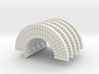 HO Brick Arch x 5 3d printed