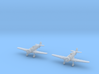 1/200 Fokker D.XXI (Netherlands) (x2) 3d printed