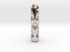 Tritium Lantern 2D (Silver/Brass/Plastic) 3d printed