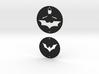 Batman Charms Set 1 3d printed