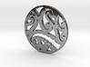 Maori koru tribal pendant design 3d printed Maoristyle koru pendant