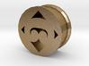 Maoristyle ear plug/tunnel tribal koru shape 3d printed