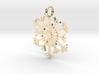 Snowflake Simple Pendent/Charm 3d printed