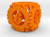 Steampunk Gear d6 3d printed