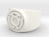 Sinestro Yellow Fear GL Ring Sz 11 3d printed