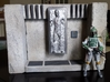 Switchbox for Han solo in carbonite diorama 6 inch 3d printed Finished Diorama