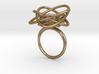Sprouted Spiral Ring (Size 6) 3d printed