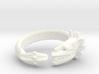 Anillo Quetzalcoatl 3d printed