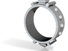 Edwardian Guard III Ring - Sz. 9 3d printed