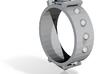 Edwardian Guard III Ring - Sz. 11 3d printed