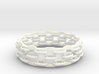 Open Chain Bangle 3d printed