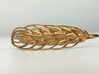 Wheat Bracelet all sizes 3d printed raw bronze