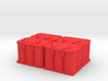 Optima Style 1:10 Scale Battery  **4 each** 3d printed