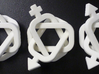 A set of equivalent Borromean rings 3d printed Equivalent Borromean Rings