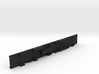 N Scale Budd Silverliner FRAME Nonpowered 3d printed