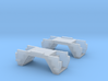 N Scale Budd Silverliner STEPWELLS 1 pair 3d printed