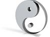 Yin and Yang 3d printed