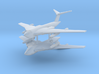 1/600 Handley Page Victor Bomber (x2) 3d printed
