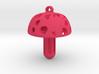 Mushroom Pendant 3d printed