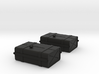 1-16 SAS Jeep Fuel Tanks 3d printed