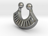Tribal Fan Nose RIng 3d printed