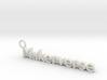 Maker1 3d printed