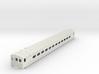 S Scale Budd Silverliner MU PRR Body Shell 3d printed