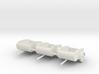 Tear Drop trailers HO scale X3 in SWF 3d printed