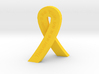 Standing Cancer Ribbon - She Is Fierce 3d printed