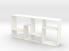 The Fixation 1:12 scale Bookshelf 3d printed