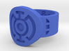 Blue Hope FF Ring 3d printed