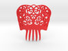 Spanish Peineta Hair Comb 3d printed