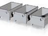 N 1:160 Materialcontainer für Kran(3 Stk) 3d printed