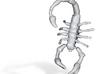 Small Scorpion Pendant 3d printed