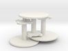 Round Tables X3 HO 3d printed