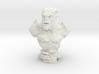 Gargoyle Bust 1 (4.5in - 11.4cm) 3d printed