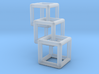 3D Cubes Pendant 3d printed