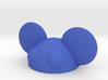 halfmau5 paperweight 3d printed edm blue