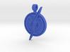 Blue Flash Pendant 3d printed
