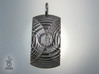 Reverb Tag Pendant from unellenu's Resonator range 3d printed