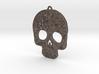 Skully Earrings 3d printed
