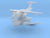 1/700 Embraer KC-390 Transport (x2) 3d printed